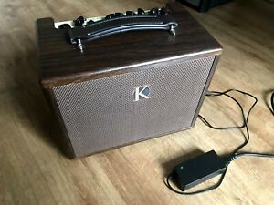 Kinsman KAA45 Acoustic Guitar Amplifier Mains Battery Reverb Chorus Busking