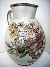 Art Deco Céramique Pichet Vase 27 cm 4 L Alfons + Ernst roi Bauer Munich 30 s pottery