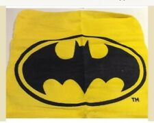 DC Comics Batman Yellow Cotton Facecloth Flannel Wash Cloth Towel Marvel Robin