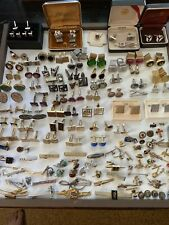 Pins Di Gino Swank Hickok Lot 234 Vintage Pairs Cufflinks Tie