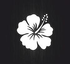 Autocollant sticker voiture moto biker macbook hibiscus plante arbre fleur r4