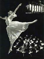 TRAVEL TOURISM USSR MOSCOW BALLET DANCE SOVIET LARGE POSTER ART PRINT BB2879A