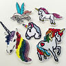 Flower&Horse Sew on/Iron on Embroidered  Patch Diy Craft Clothes Applique