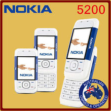 Genuine Unlocked Nokia 5200 Mobile Phone Black, Red, & Blue  Manufacturer Direct