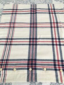 RL Ralph Lauren COTTON FLANNEL Plaid Std Pillow SHAM Excellent