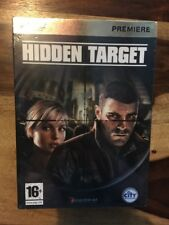 HIDDEN TARGET  PC DVD ***NEW*** SEALED Game Quick Dispatch Free Post
