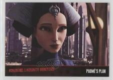 2010 Topps Star Wars: Clone Wars Rise of the Bounty Hunters #14 Padme's Plan 1p5