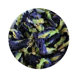100g - 100% Pure Natural Whole Dried Butterfly Pea Blue Flower Tea UK