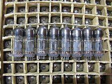 8x 6N6P / ECC99 / E182CC Soviet GOLD GRID! Same Date Double triode tubes NOS