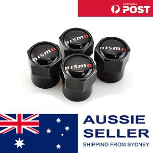 4pcs NISMO Tyre Wheel Valve Stem Caps Dust Cover JDM Styling Nissan Skyline GTR