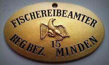 GÖDE Orden Polizeiabzeichen Sammlung ... Fischerei Beamter MINDEN 1918-1934