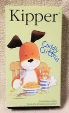 KIPPER the Dog CUDDLY CRITTERS VHS Video Tape 2001 HIT Entertainment Mick Inkpen