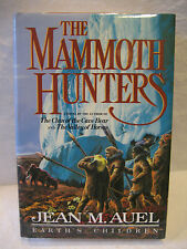 Jean M Auel THE MAMMOTH HUNTERS Earth's Children 1985 book 1st ed SIGNED HC DJ !