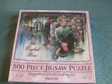 "The English Rose 500 Piece Jigsaw Puzzle Princess Diana 18"" X 24"" 1998 HB26150"