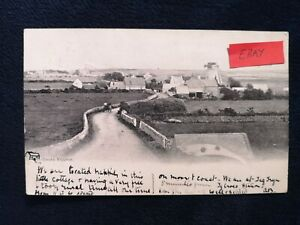 POSTCARD ANGLESEY - RHOSNEIGR TY CROES VILLAGE - EARLY 1900's.