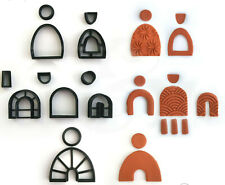 Arch Clay Cutter Set of 12 | Polymer Clay Cutter | Earring clay cutter |