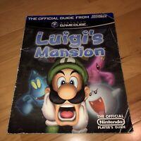 Luigi's Mansion Official Nintendo Power Players Guide Original GameCube Version