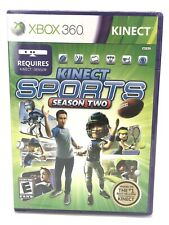 NEW Kinect Sports Season Two Microsoft Xbox 360 FACTORY SEALED PART 2 VIDEO GAME