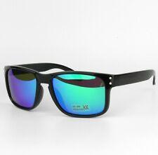 2e05ef5459 Polarizado Hombre Rectangular Escudo Deportivo Informal Gafas de Sol Uv400