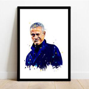 JOSE MOURINHO FRAMED ART PRINT!