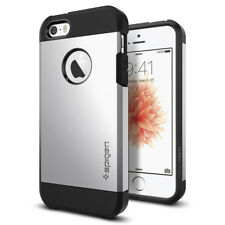 iPhone 5s Case Spigen Tough Armor Heavy Duty Satin Silver Extreme / but
