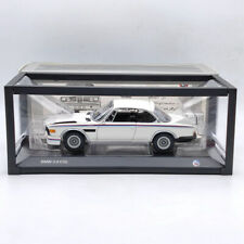 1/18 Scale MINICHAMPS BMW 3.0 CSL 1971 White Diecast Model Collection Door Open