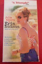 VHS Movie Julia Roberts is Erin Brockovich !
