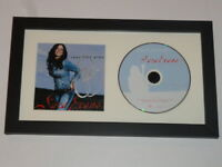 """SARA EVANS SIGNED FRAMED """"REAL FINE PLACE"""" CD COUNTRY AUTOGRAPHED PROOF"""
