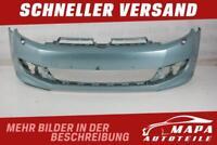 VW GOLF 6 VI R-LINE Bj. 2009-2012 Stoßstange Vorne SRA (kein PDC) Original Blau