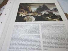 Oberösterreich Archiv 2 2079 Franz Sedlacek Stadt in Gebirge 1935