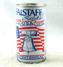 Falstaff Beer Can Steel Vintage 1970's Bottom Opened Pre-owned Free Shipping