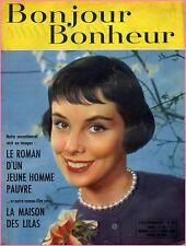 ▬► Bonjour Bonheur 44 (1957) ASLAN_ROMAN PHOTOS + DESSINÉ_JEAN MARAIS_R.P DUVAL