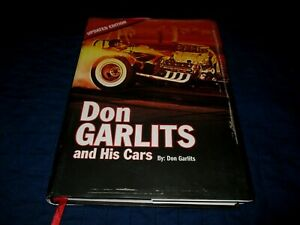 DON GARLITS AND HIS CARS-UPDATED EDITION HRDCVR BOOK-HAND SIGNED BY DON GARLITS
