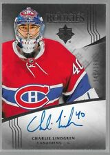 16/17 Ultimate Collection Auto Rookie RC Charlie Lindgren /299 130 Canadiens