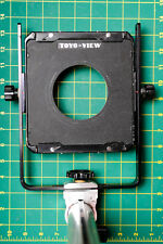 """Toyo 4x5 Large Format Camera Standard, With Lens Board, And 12"""" Rail"""