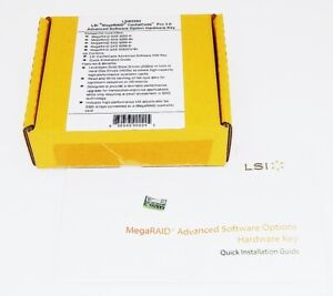 LSI MegaRIAD CacheCade Pro2.0 Caching Software LSI00290 L5-25188-04 Physical Key