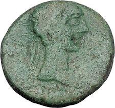 AUGUSTUS 27BC Thessaly Koinon ATHENA Authentic Ancient Roman Coin RARE i47208