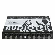 Audiotek AT-EQ500 CAR AUDIO 5-BAND GRAPHIC EQUALIZER WITH SUB OUT PUT
