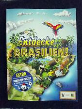 "EDEKA-WWF Sticker  2014 ""ENTDECKE BRASILIEN "" Leeralbum """