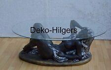 Frauen Akt Erotik Tisch Couchtisch Figur Tischfuß Skulptur Beistelltisch Glas Ka