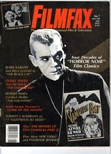 WoW! Filmfax #7 The Black Cat! The Vampire Bat! The Haunting! Curse Of The Demon