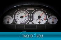 Tachoscheiben für BMW 300 kmh Tacho E46 Diesel M3 Carbon 3328 Tachoscheibe km/h