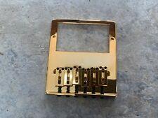 Gotoh Telecaster style bridge . Gold finish . Used very good condition.