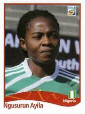 Panini FIFA World Cup 2011 Germany Women Sticker #81 Ngusurun Ayila Nigeria