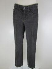 Cambio Jeans Damen Hose Denim 36 Grau Gerades Bein Straight 5-Pocket-Style