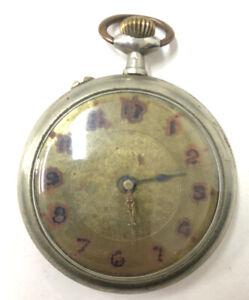Watch Gusset Antique IN Working Order Despite Winder Flu REF64455