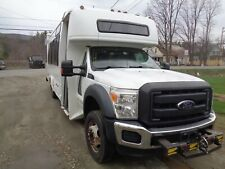 2012 F550  Shuttle bus with wheel chair lift Needs work ( needs to be towed )