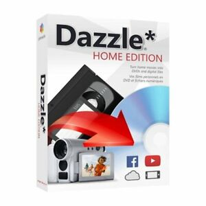 Dazzle* Home Edition Software Turn Home movies Into DVDs And Digital Files