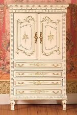 Dolls House Miniature 1/12th Scale Emporium Hand-Painted Armoire Cabinet 4401