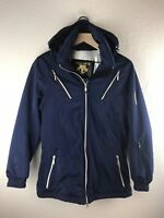 Womens Descente Winter Snow Ski Jacket Coat Size 4 Navy Blue